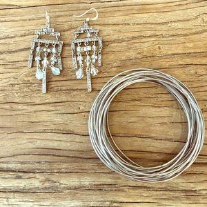 ⭐️4/$25 Boho Bundle Bangles and Dangle Earrings
